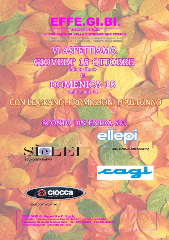 Special opening headquarters in Modena - Sunday, October 18, 2015